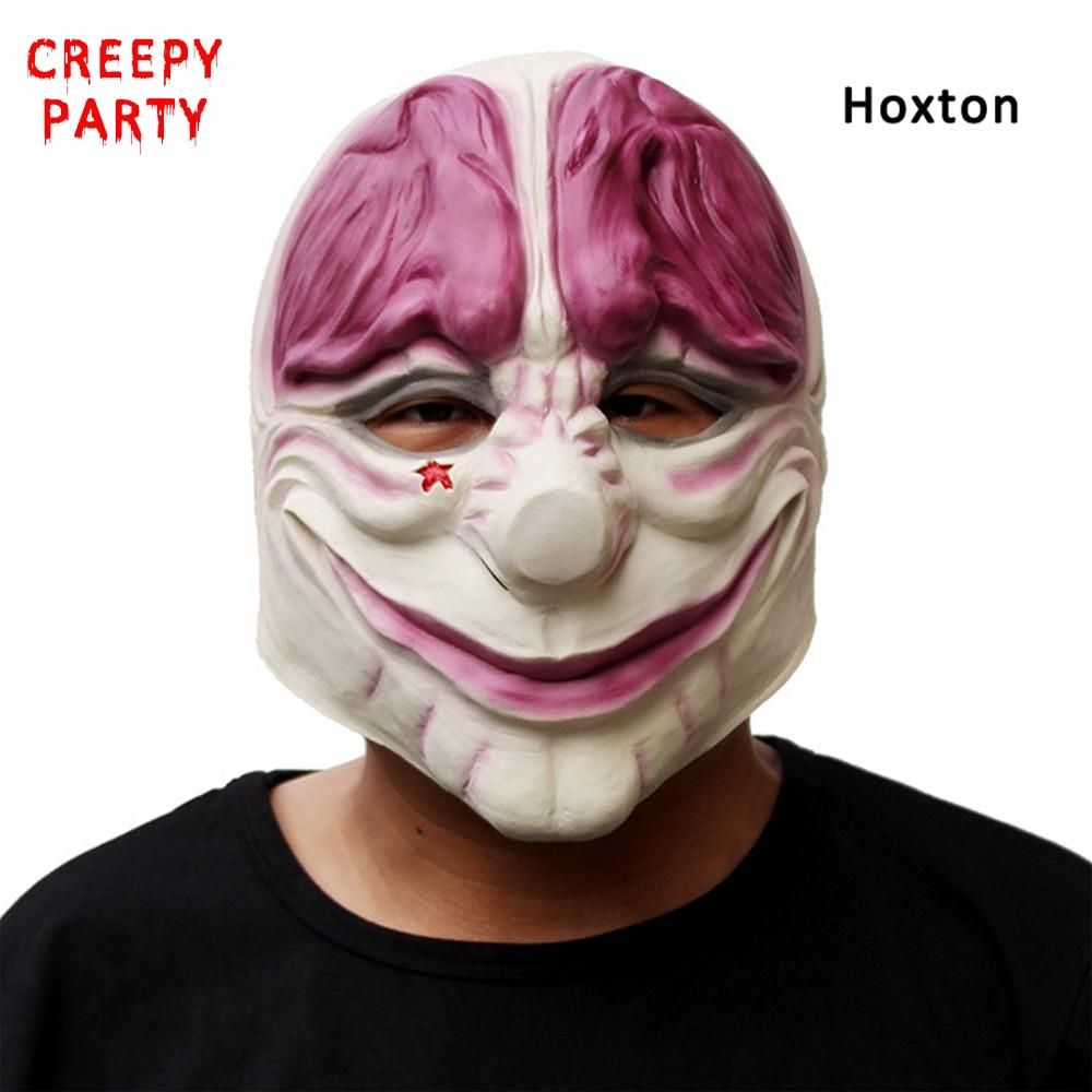 Horror Betaaldag 2 Masker Realistische Spelserie Latexmasker - Feestversiering en feestartikelen - Foto 4