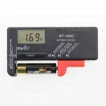 Testador de bateria ferramenta de diagnóstico da bateria display digital verificar o nível de energia para 1.5 v e 9 v baterias indicador de carga da bateria