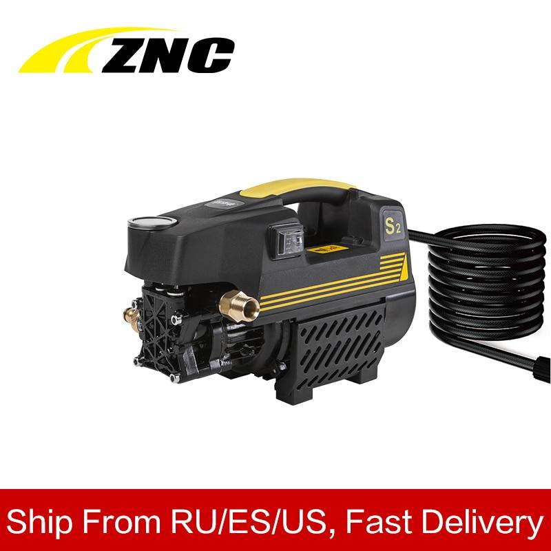 ZNC Haute Pression Rondelle De Voiture Électrique Haut Débit 7LPM Auto Aspiration De Nettoyage Machine à Double usage Domestique Machine De Nettoyage