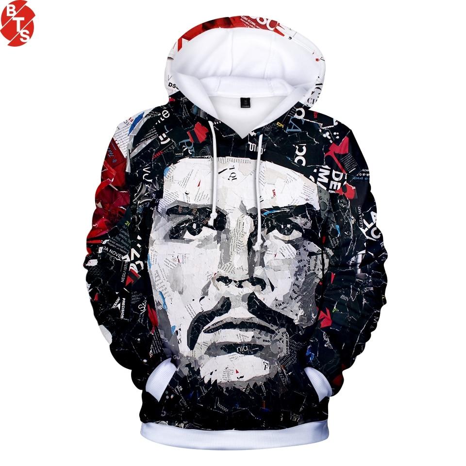 Che Guevara 3D Printed 2018 New Fashion Hoodies Women/Men Long Sleeve Casual Hooded Sweatshirts Trendy Streetwear Hoodies