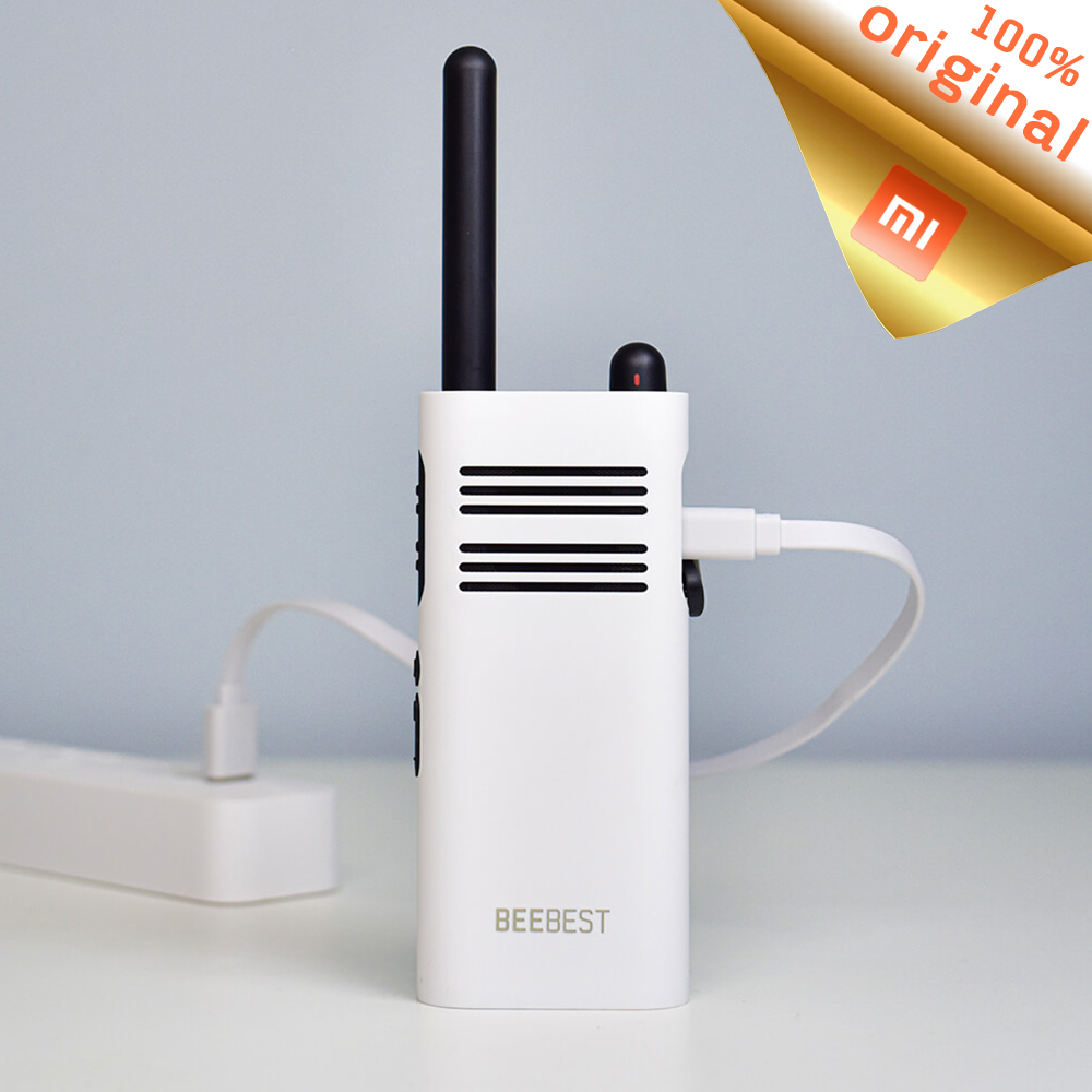 Xiaomi Mijia BeeBest A208 Handheld Walkie Talkies 5W 1-5KM 2000mAh English Two Way Radio For Outdoor Indoor Building Security