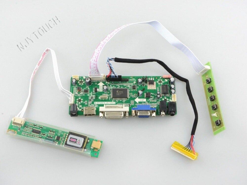 HDMI DVI VGA LCD Controller Board kit for 15 4inch QD15TL01 QD15TL02 QD15TL03 1280x800 LCD Screen