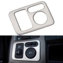 Для Хонда сrv CR-V 2007 2008 2009 2010 2011 1 шт. Автомобильные светодиодные лампы фар кнопка включения обложки внутренняя отделка декоративные аксессуары