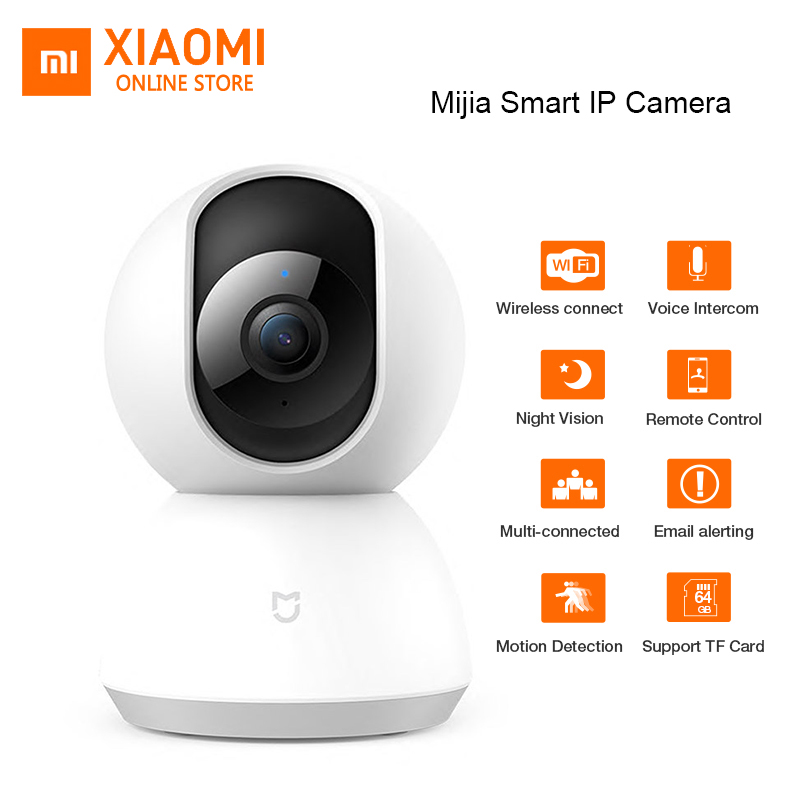 Xiaomi Mijia CCTV Smart 360 Camera WiFi Pan tilt Night Vision 360 Angle video camera Motion