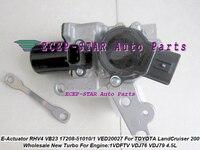 Turbo Atuador Eletrônico RHV4 VED20027 VB23 17208-51010 17208-51011 Para TOYOTA Land Cruiser 200 series D-40 508F 1VD-FTV VDJ76
