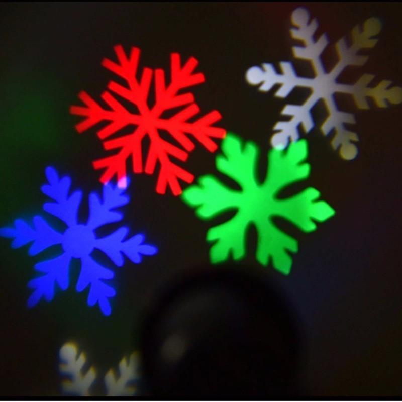 snowflake stage light