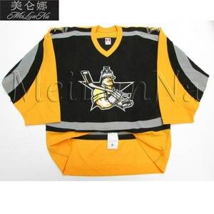 0aa41ab68 MeiLunNa Custom ECHL Texas Wildcatters Hockey Jerseys Home Road White Black  Gold