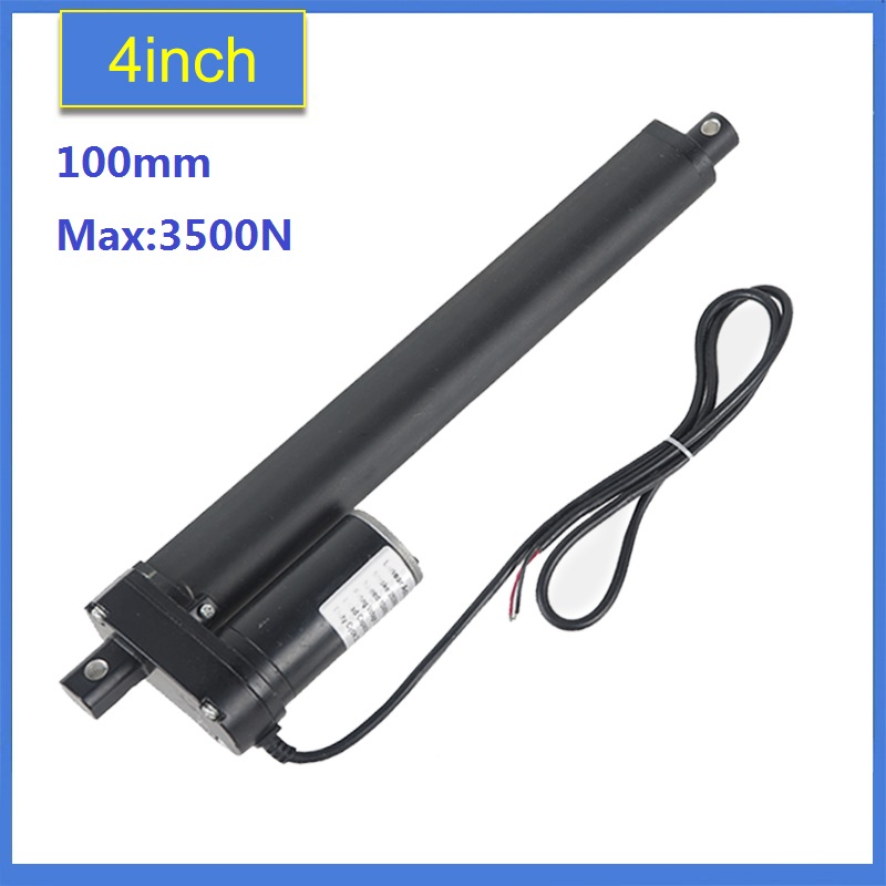 цена на Heavy Duty 4100mm Stroke Linear Actuator 12V/24v DC max load 3500N/350KGS/770LBS electric linear actuator tubular motor motion