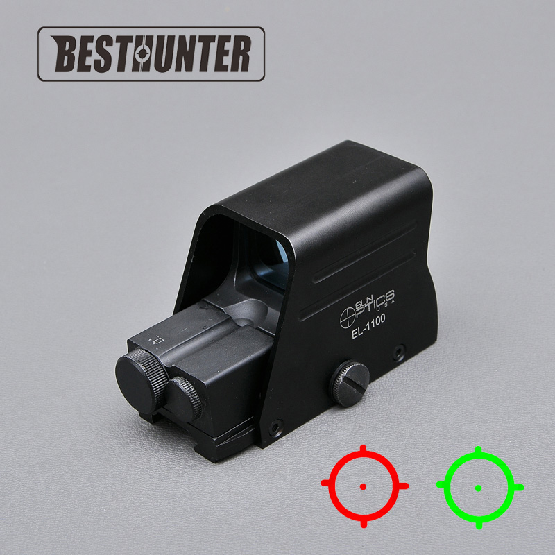 Holographic Sight Reflex Sight Red Dot Optics Rifle Scope Sniper Scope For Airsoft Air Guns With