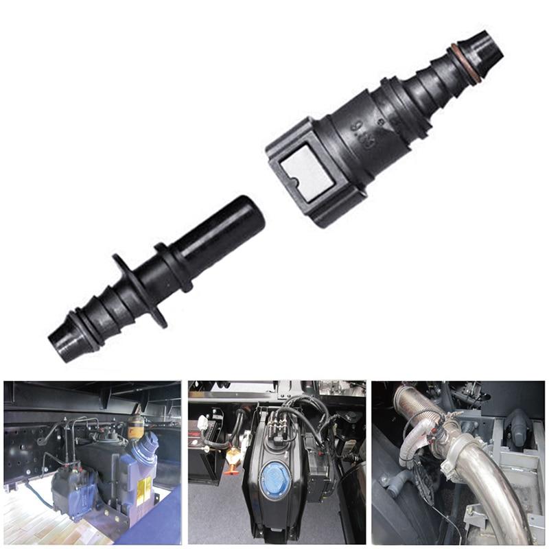 1 Set 8mm 9 89 Auto Car Fuel Line Hose Coupler Quick Release