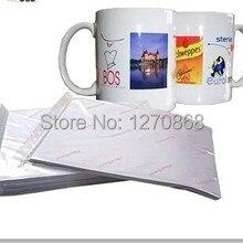 Лучшее качество сублимационная переводная бумага для стаканчиков и белой ткани A4 100 листов