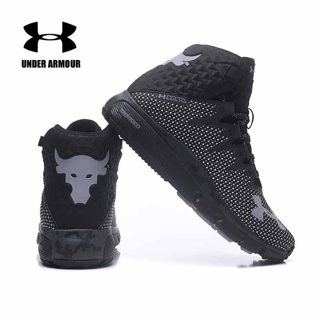 5744fbdcd5ab Under Armour Men Project Rock Delta Basketball shoes Charged Cushioning  sneakers Zapatillas hombre deportiva Athletic Trainers