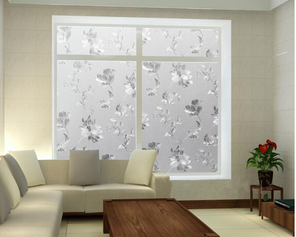 Frosted decorative self adhesive window films pvc privacy opaque frosted decorative self adhesive window films pvc privacy opaque glass window stickers for sliding glass door window 60200 in decorative films from home planetlyrics Image collections