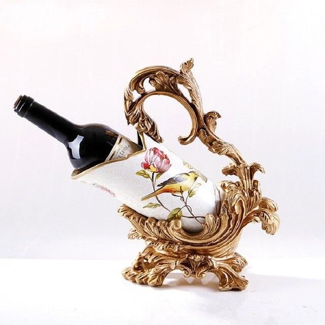 europeenne creative casier a vin en ceramique titulaire vinho vin bouteille plateau cuisine accessoires decorations rejilla