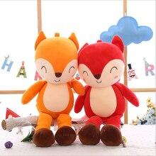 New Lovely Little Fox Short Plush Toys Stuffed Animal Doll Toy Children Birthday & Valentines Day Gift