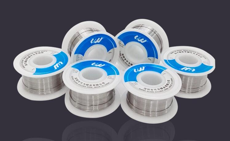 SZBFT 0.8mm/1.0mm 60/40 FLUX 2.0% Tin Lead Tin Wire Melt Rosin Core Solder Soldering Wire Roll