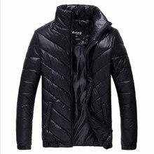 2015 Новых людей Прибытия Зимнее Пальто Набивочного Куртка Осень Зима Из носить мужские Случайные Пальто, A040