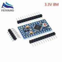 1pcs/lot Pro Mini 328 Mini 3.3V/8M ATMEGA328 ATMEGA328P-AU 3