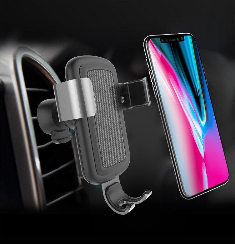 Быстро Беспроводное зарядное устройство Кронштейн подходит для iPhone 8/8 Plus для Skoda Yeti Octavia 2 a5 a7 Superb Fabia быстрое аксессуары