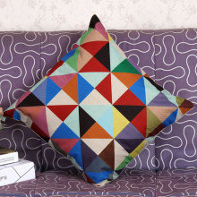 Подушка Gajjar Pillow Case 45 * 45 Colorful Geometric Decorative Pillows покрывает геометрический Dropshipping
