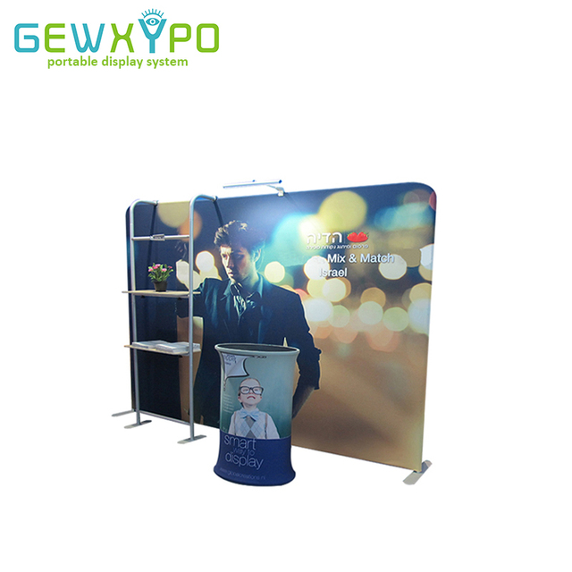 Portable Exhibition Banners : Exhibition booth 10ft*7.5ft straight tension fabric advertising