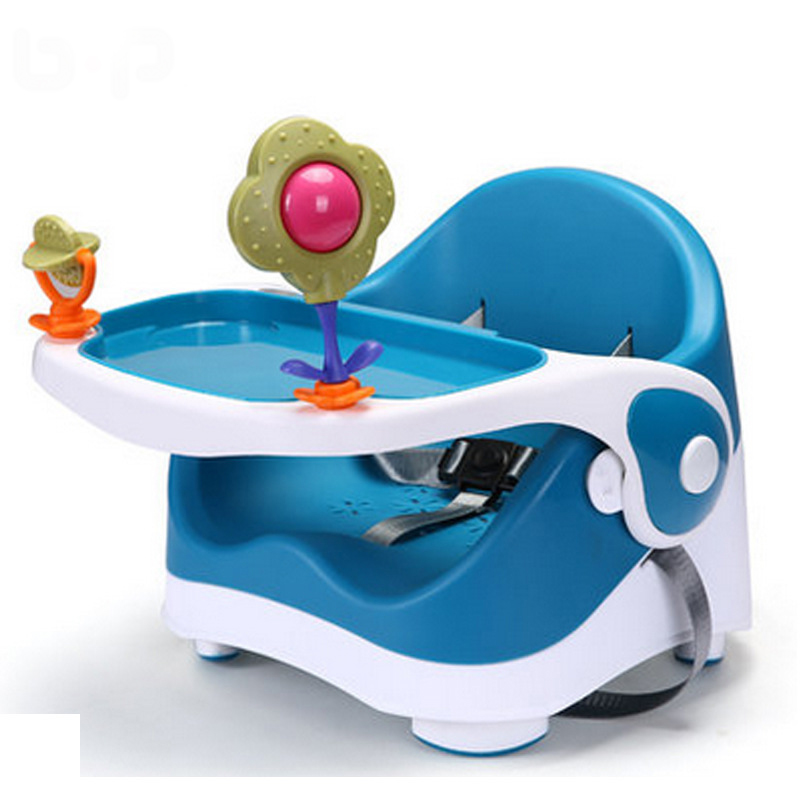 2018 Portable Multifunctional Baby Chair Dining For Children To Learn To Eat Baby Seat Stool children a portable folding chair the baby seat the baby to eat chair baby pu cushion eat desk and chair stool