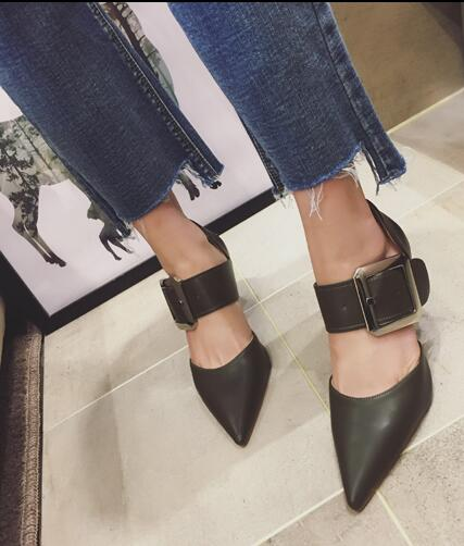 ФОТО Stiletto high heels woman shoes party pumps bid buckle as decoration but also as closure green white and  light brown can choose