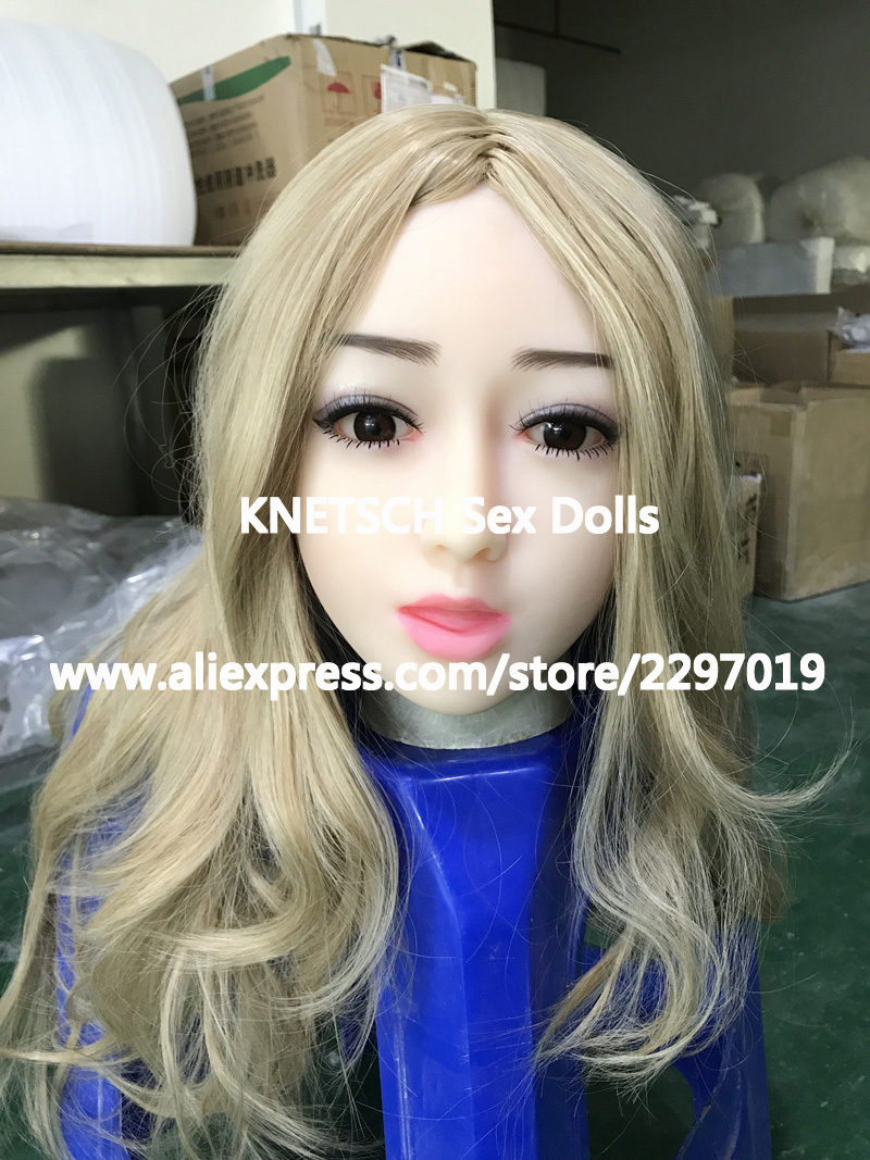 43 sex doll head with oral sexy silicone adult doll heads for love doll sex