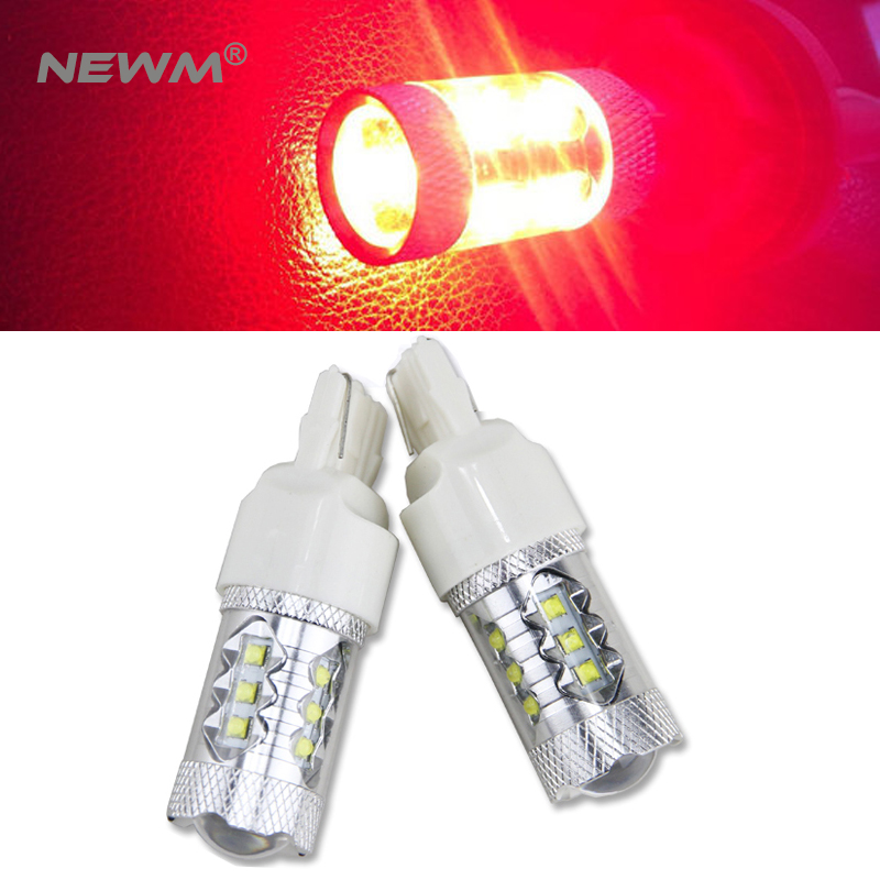 2x T20 7440 White/Red/Amber High Power 30w/50W/80w CREE Chip XBD LED Bulbs For Car Reverse Lights Signal Backup DRL Lights 2x 3014 57smd chip t20 7443 7440 canbus error free bulbs led bulbs car reverse lights signal backup drl lights white red yellow