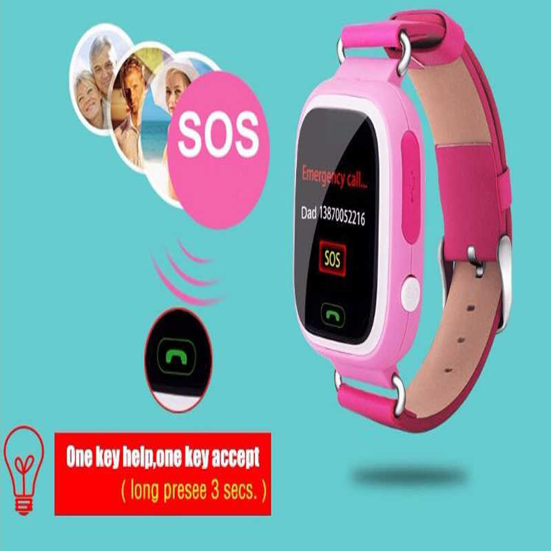 new products 2017 gps  watchQ60,gps kids watch water proof,q60 gps watch fashion bracelet children