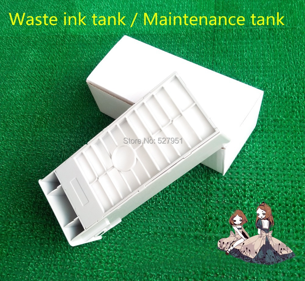Maintenance Tank For Epson Stylus Pro 4880 7880 9880 4800 7800 9800 7400n Chip 4400 7400 9400 4450 7450 9450 In Printer Parts From Computer Office On