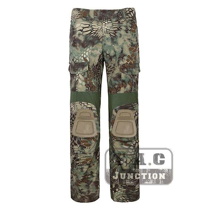 Tactical Emerson BDU G2 Combat Pants Emersongear CP Style Battlefield Trousers Assault Uniform w/ Knee Pads Mandrake