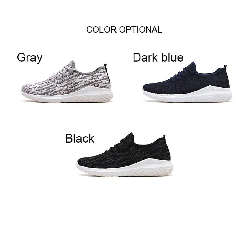 Zapatos ocasionales de los hombres Zapatos tenis tejidos masculinos - Zapatos de hombre - foto 5