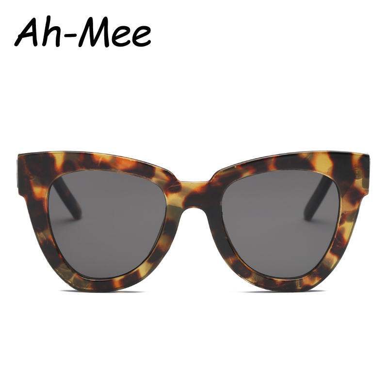 Female Glasses Cat-Eye Vintage Fashion Women Luxury Brand-Designer Gafas-De-Sol Uv400