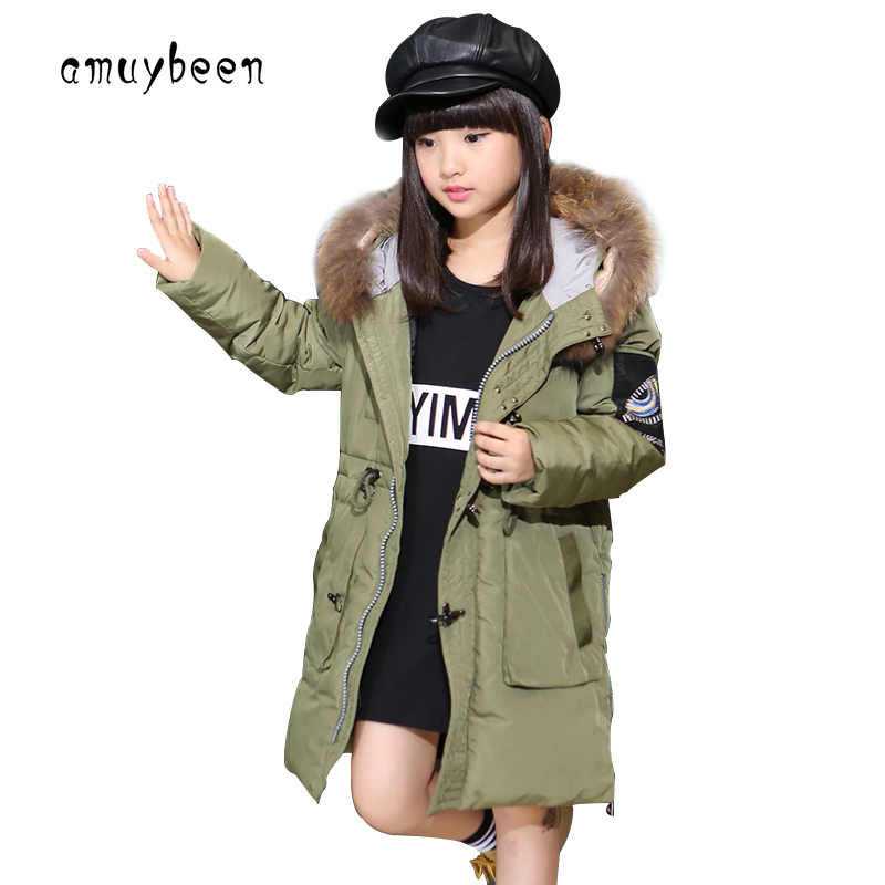 Girls Winter Coat 2017 Kids Reima Down Jacket For Teenage Girls Clothes Children's Winter Jackets Baby Manteau Fille Hiver Parka 2017 baby girl thickness warmer down jacket for girl fashion kids winter jacket manteau fille hiver hooded girls winter coat