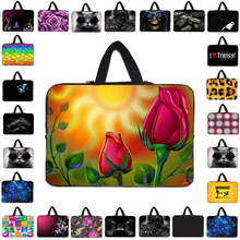 Unique 17 15 14 13 12 10 17.3 15.4 13.3 14.1 inch Laptop Notebook Handle Neoprene Bags Carry Cover Cases Pouch For Macbook Air