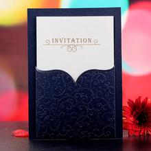 30 Pcs/lot Corporate Business Meeting Invitation Card with Envelope Cocktail Party Invitations Personalized Wedding