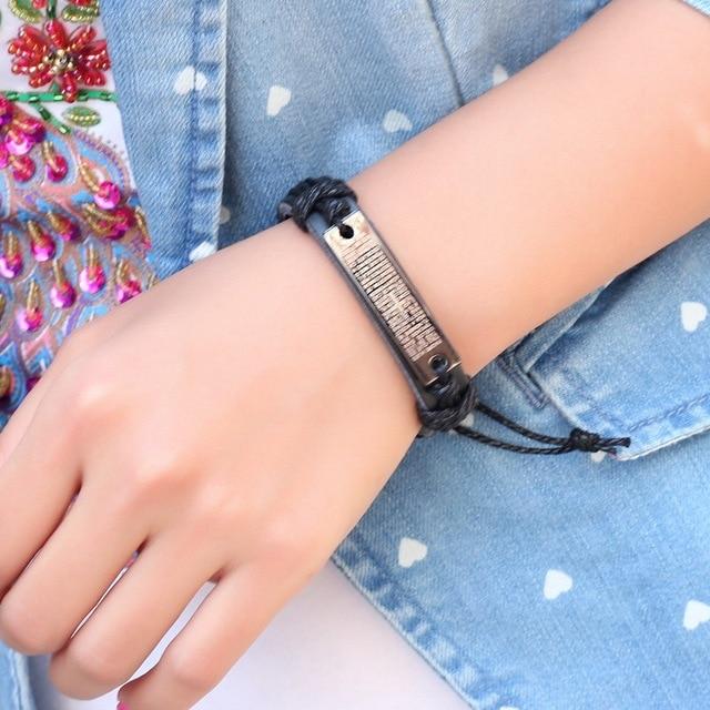 Купить janeyacy 2018 высококачественный кожаный браслет мужской модный