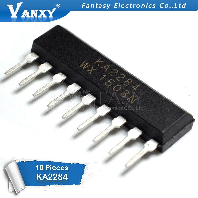 10PCS KA2284 SIP-9 2284 ZIP-9 ZIP New And  Original IC
