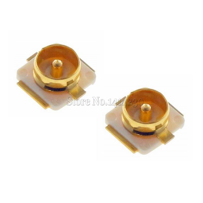 20Pcs U.FL-R-SMT U.FL socket IPEX / IPX connectors RF Coaxial Connector Antenna Block 20279-001E SMD цена