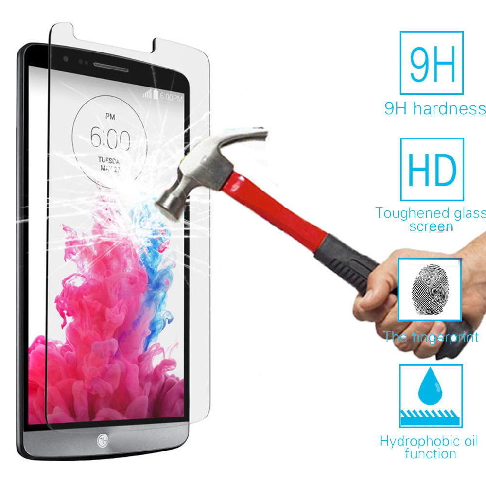Top Quality 0.25mm 9H Premium Tempered Glass For LG G2 G3 G4 G5 G3S S Beat K10 Magna Leon Spirit 4G LTE Screen Protector Sklo