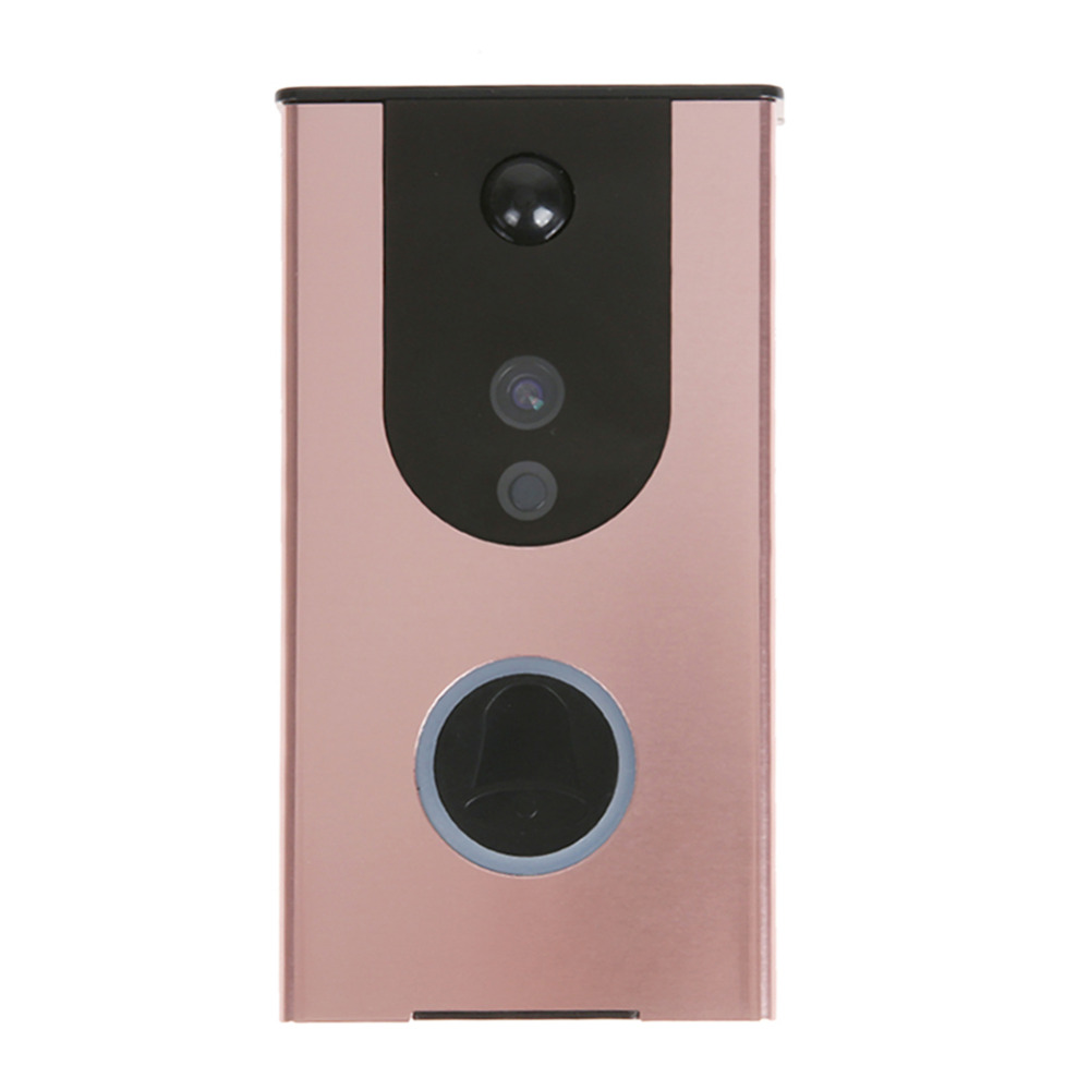 WiFi Wireless Enabled Video Doorbell Smart Home Security Camera IP65 Waterproof iOS  Android APP IR Night Vision Cloud Storage