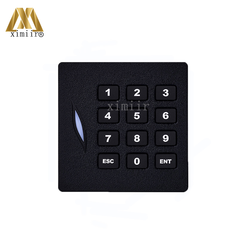 4pcs Per Package ZK RFID Card Access Control Reader Wgand26 125KHZ ID Card Smart Card Reader With Keypad IP65 Waterproof KR102 платье sweewe sweewe sw007ewrql56