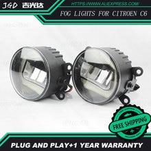 Per Citroen c6 LR2 Car styling paraurti anteriore fendinebbia LED ad alta luminosità fendinebbia 1 set