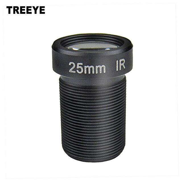 "HD 5.0Megapixel 25mm CCTV Lens 1/2"" For HD CCTV Camera Lens F2.4 M12 Mount Fixed Iris Long Viewing Distance Upto 50m"