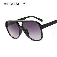 531709d83 MEROAFLY Piloto Óculos De Sol Dos Homens de Grandes Dimensões De Luxo  Itália UV400 Retro Marca