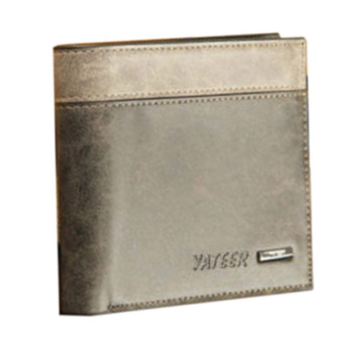DCOS yateer Business Men's Leather Wallet ID Bifold Credit Card Holder Purse Clutch Pockets