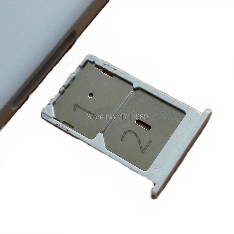 Original White Black SIM Card Tray Holder Replacement For Xiaomi M4C 4C Mi4C Mi 4C Phone Replacement Repair Spare Parts