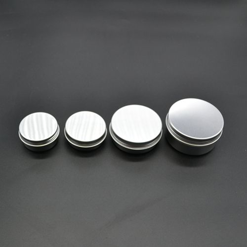 50pcs/lot 30ml Aluminum Cosmetic Jar Cream Empty Bottle Cream Containers Jars Aluminum Pill Box Small Aluminum Pill Containers
