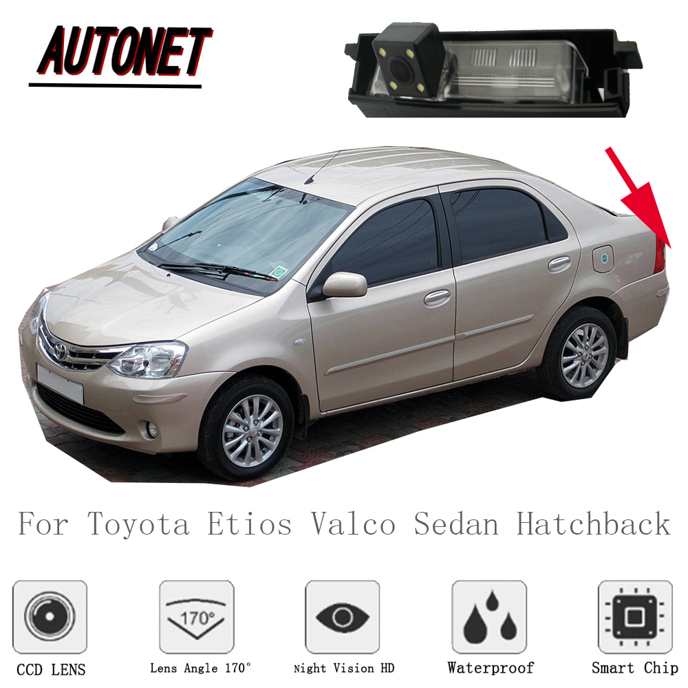 AUTONET rearview camera For Toyota Etios Valco Sedan Hatchback 2010~2018/Reverse Camera/CCD/Night Vision/license plate Camera
